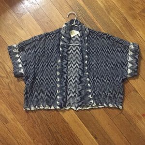 Anthro crop cardigan